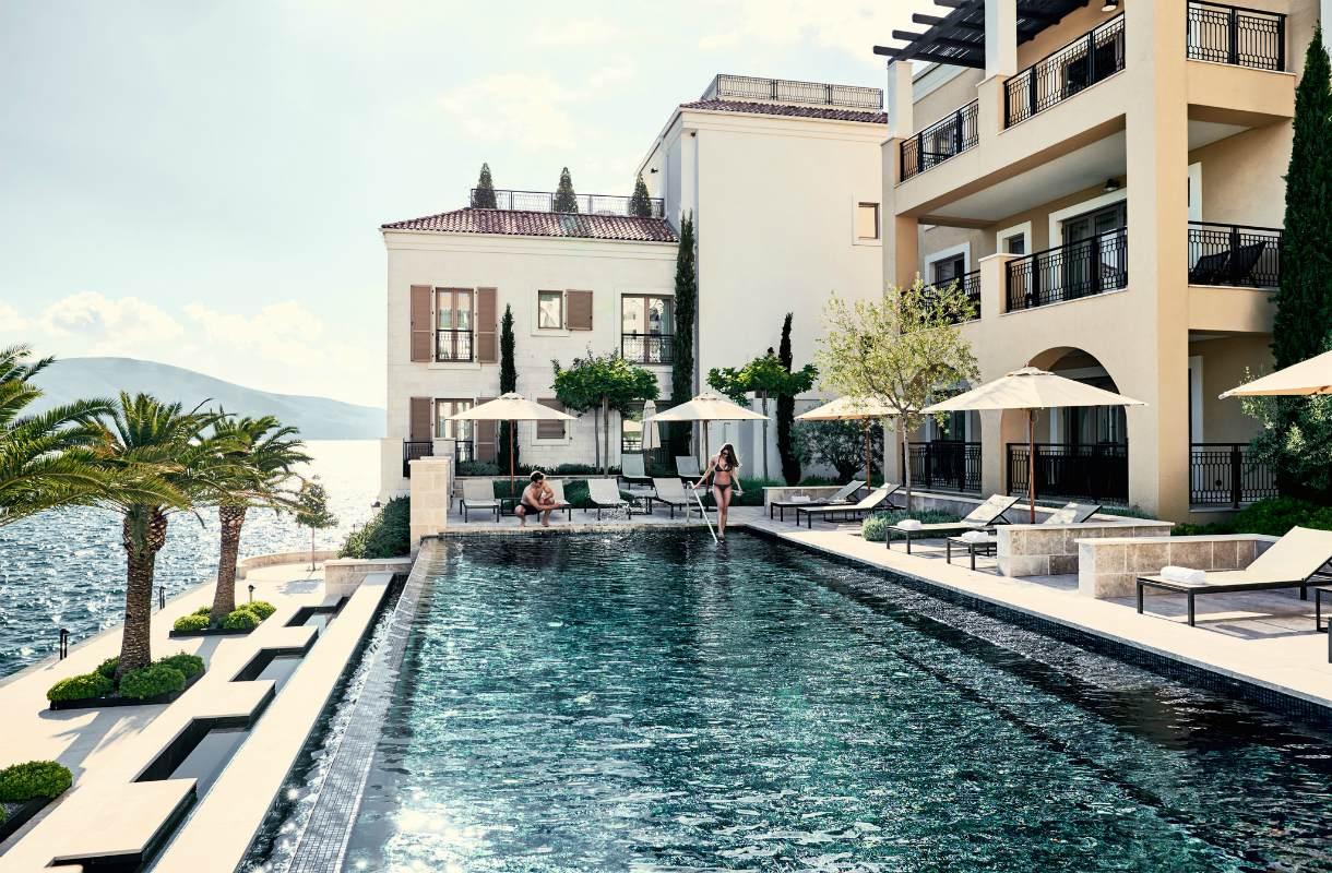 Porto Montenegron hotellit