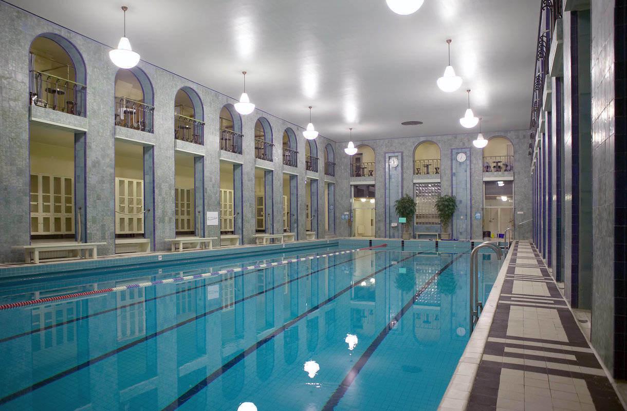 Yrjönkadun uimahalli Helsingissä