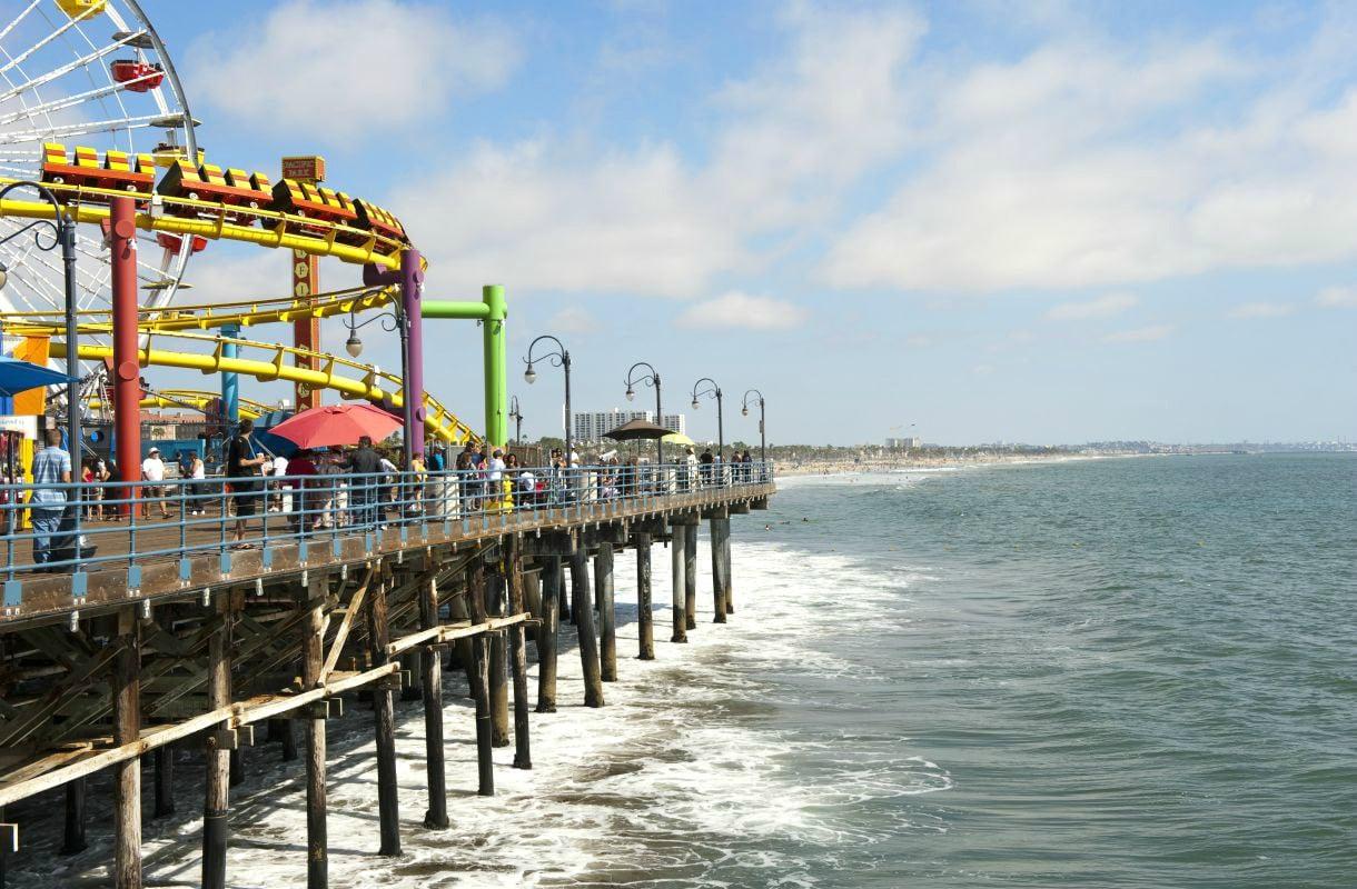 Santa Monica on Los Angelesin suosituimpia rantoja