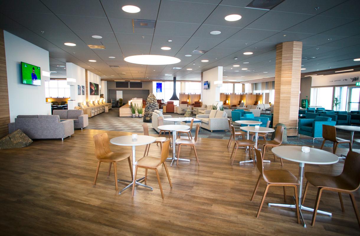 Icelandairin lounge