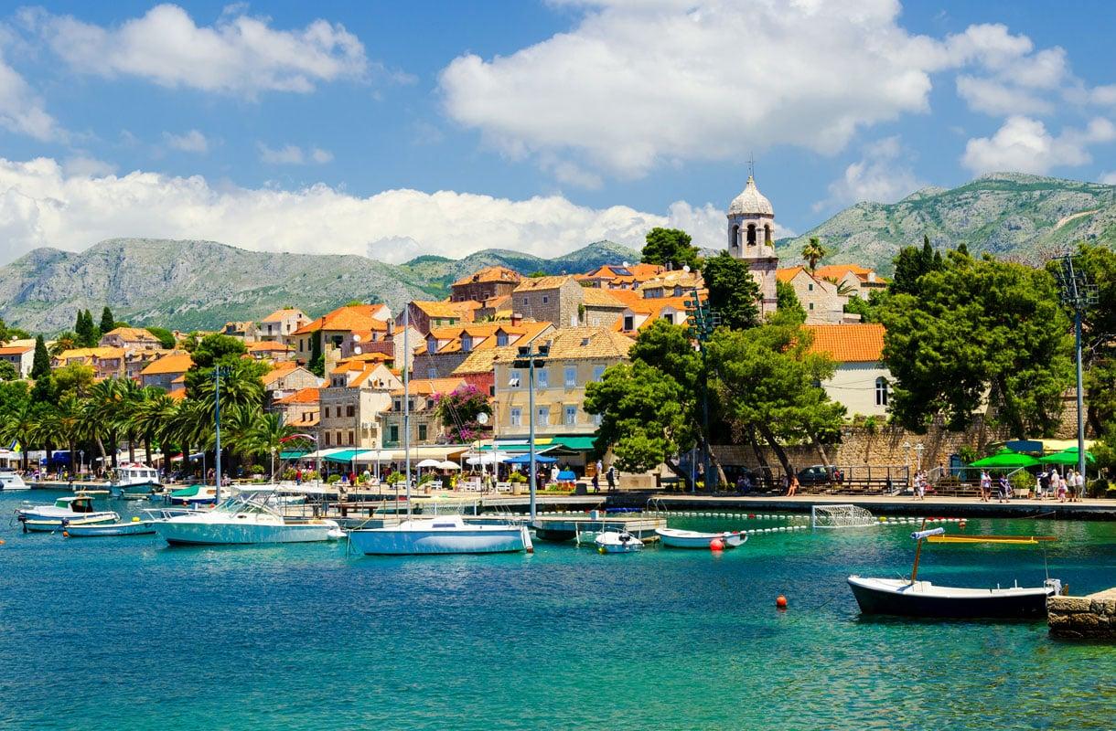 Cavtat on viihtyisä lomakohde lähellä Dubrovnikia