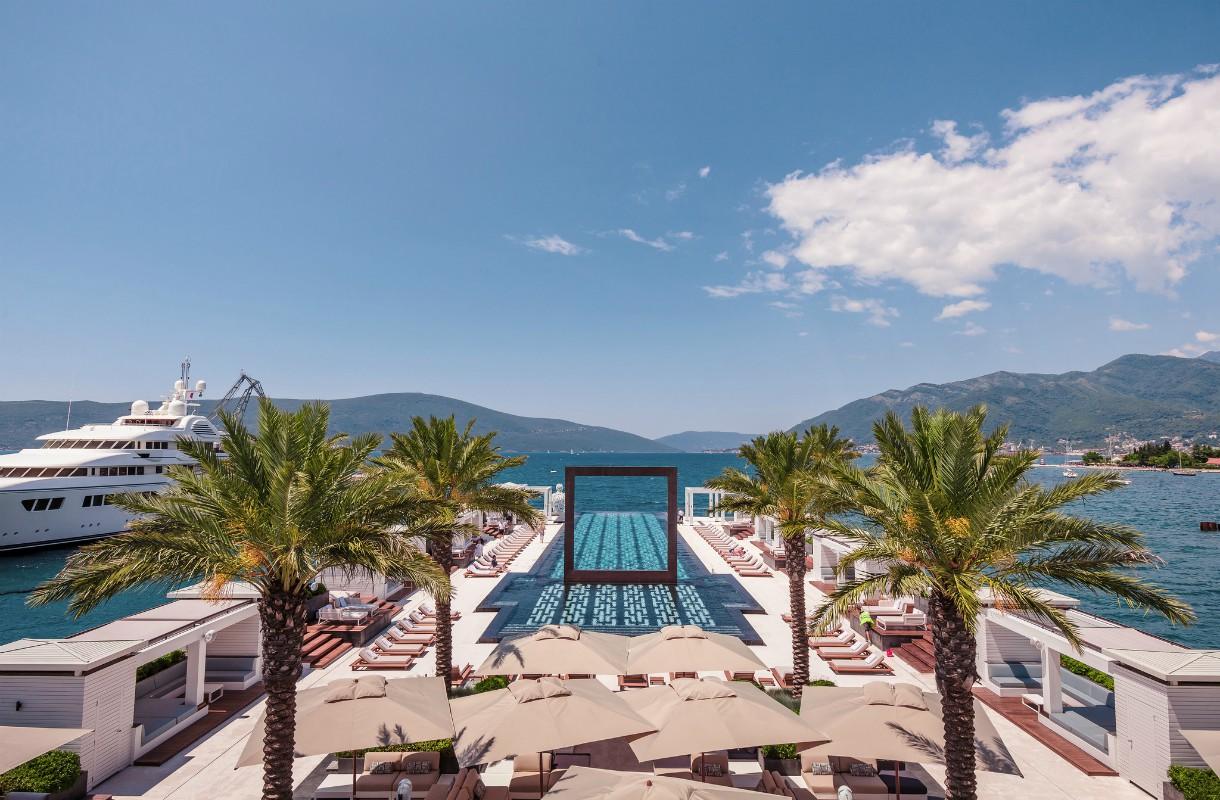 Montenegron parhaat uima-altaat