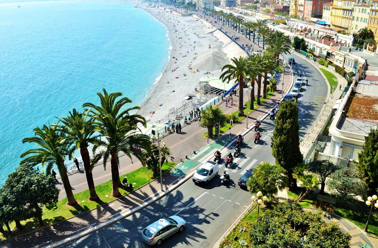 Promenade des Anglais Nizzassa