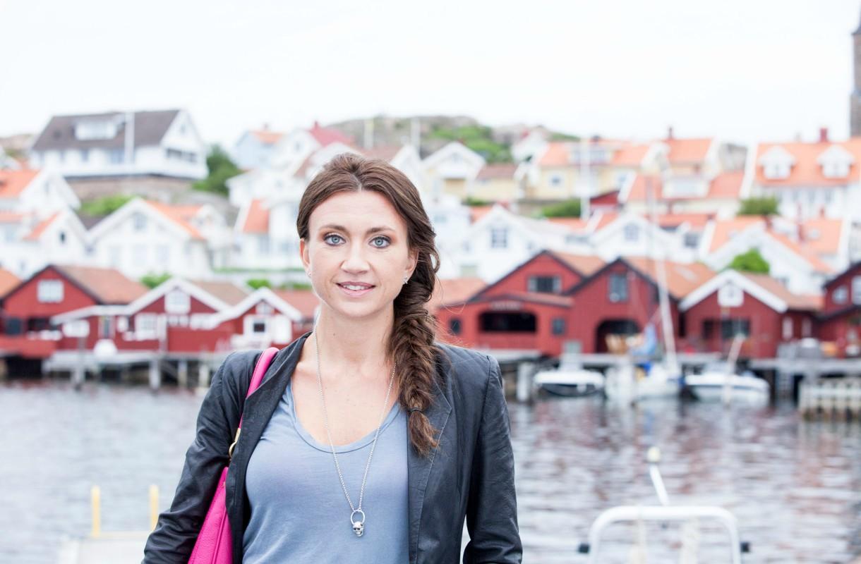 Camilla Läckberg nosti Fjällbackan maailmankartalle
