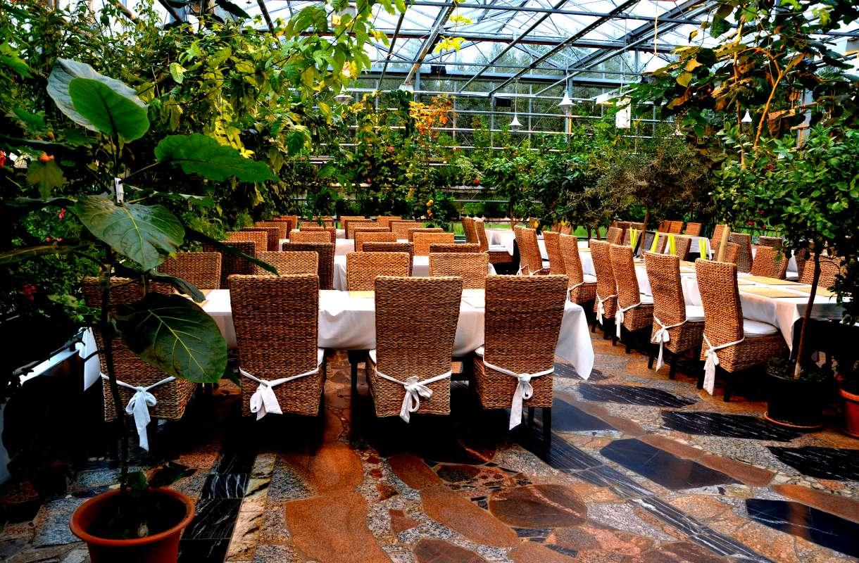 Närpiössä toimii kasvihuoneravintola