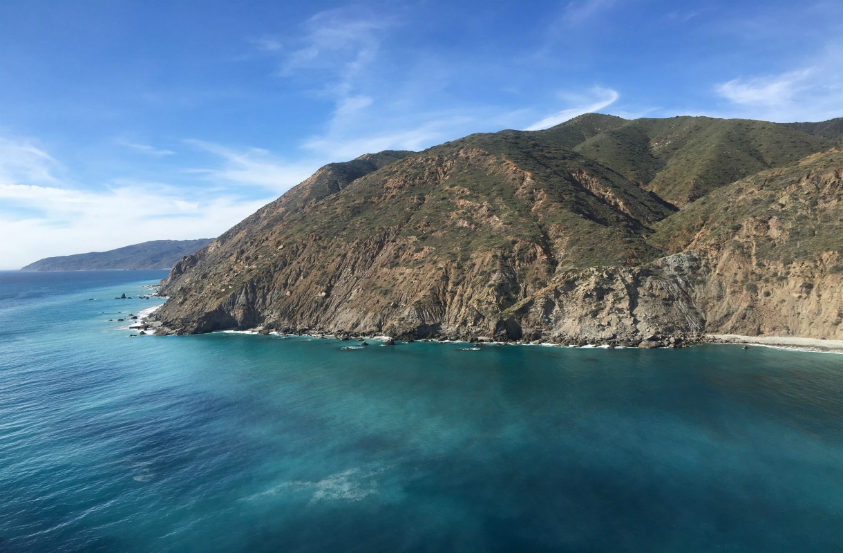 Helikopteriajelu Catalinan saarella