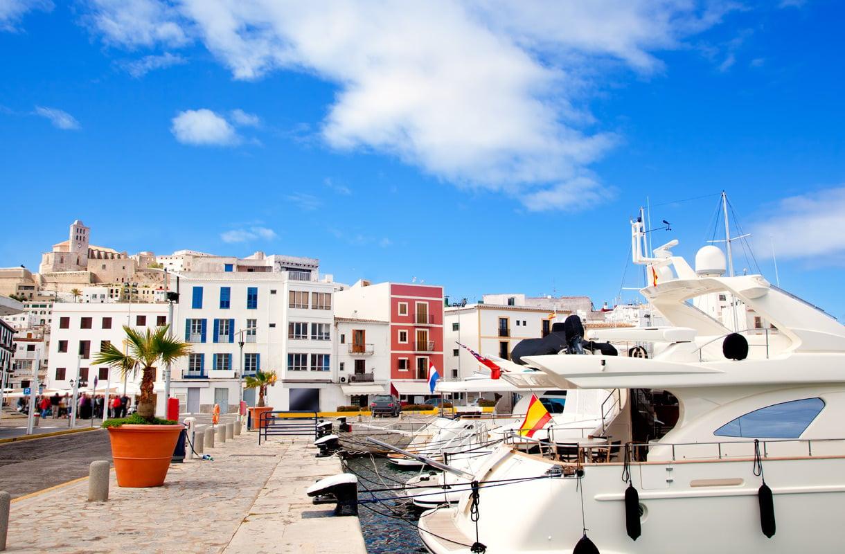 Ibizan kaupungin satama