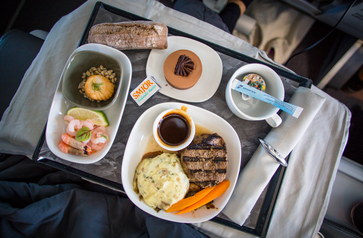 Icelandairin Saga Premium -luokka