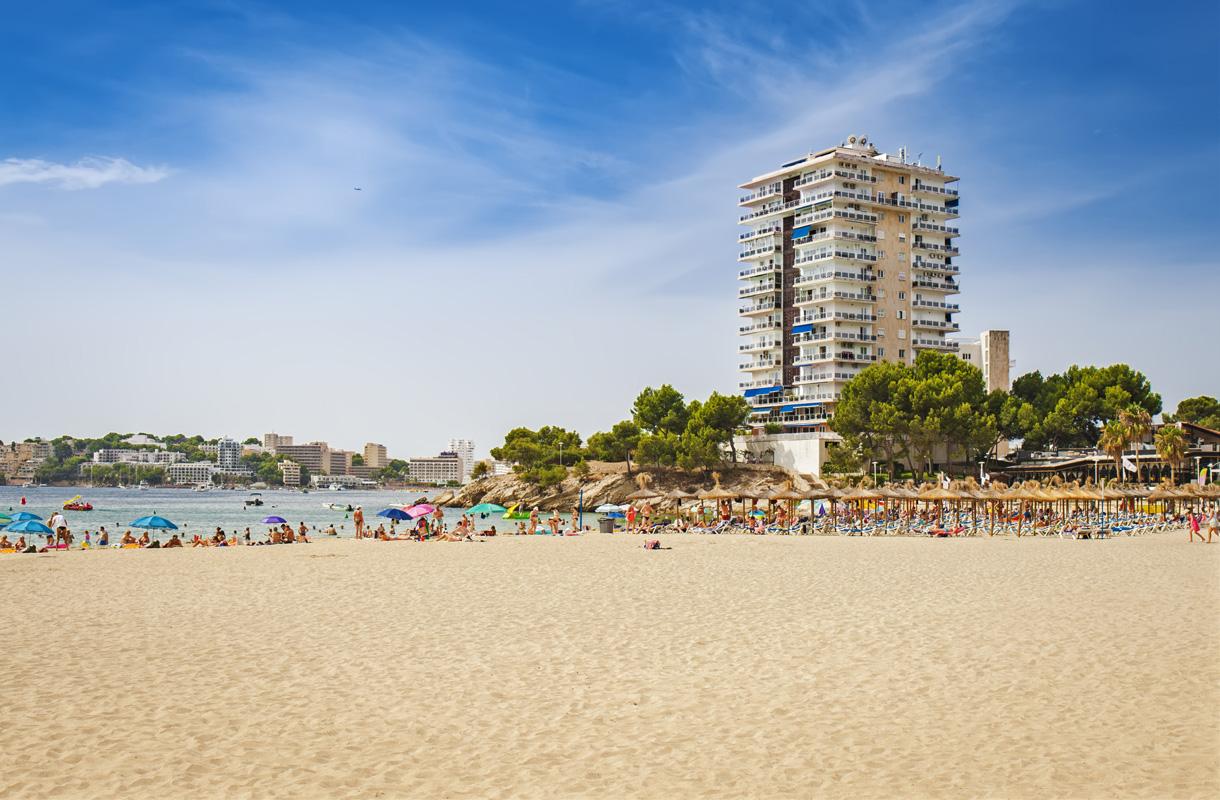 Palma Nova ja Magaluf ovat kasvaneet yhteen Mallorcalla