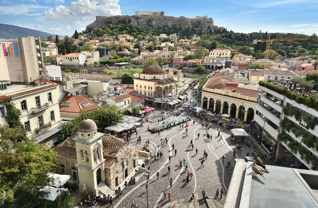 Ateenan hylätyn lentokentän tarina