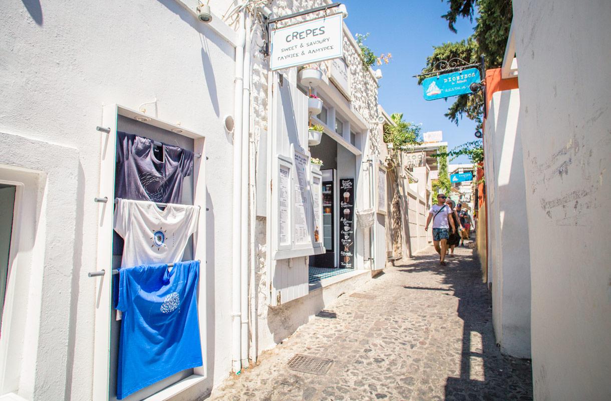 Santorinin pääkaupunki Fira
