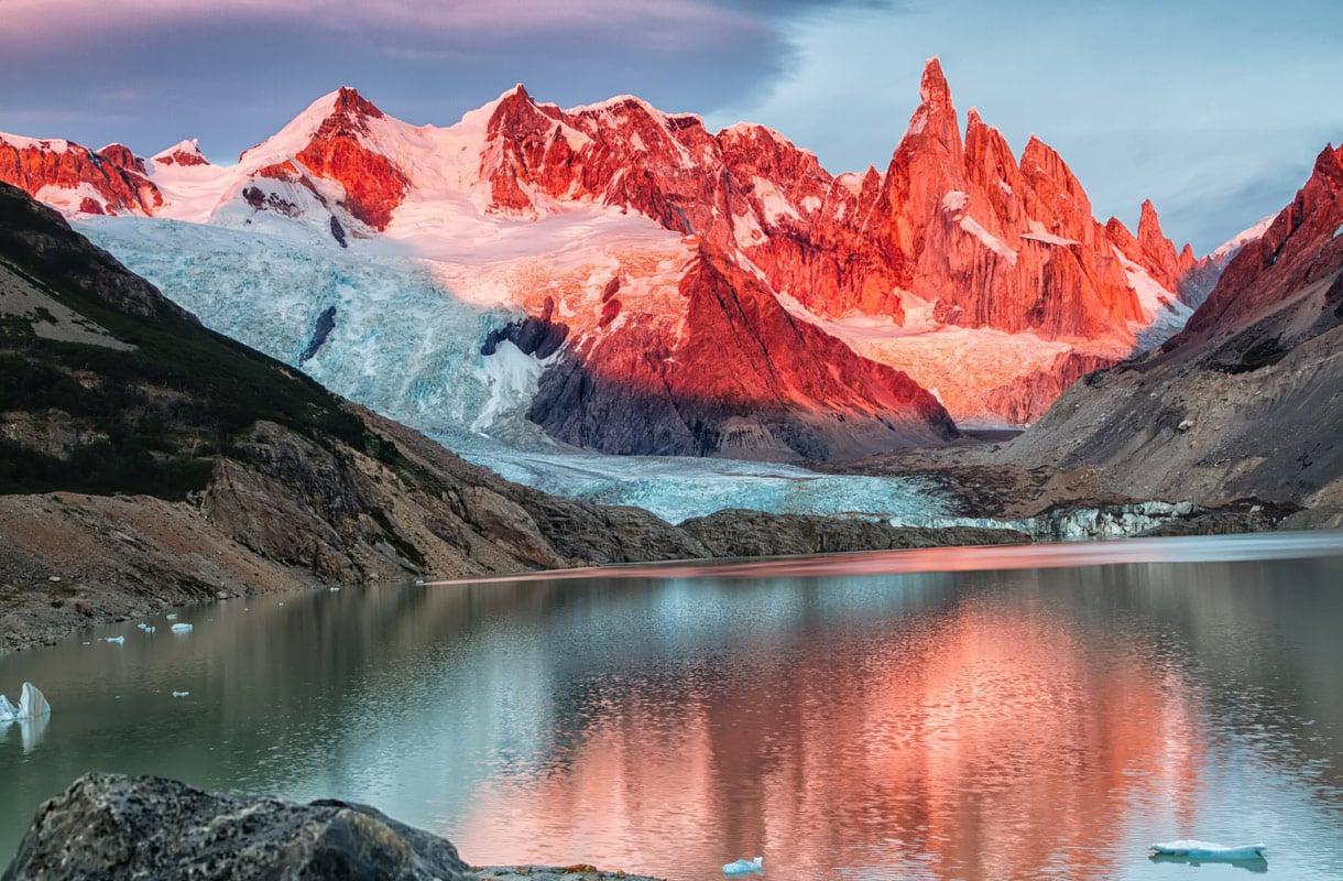 Patagonian upeimmat kohteet