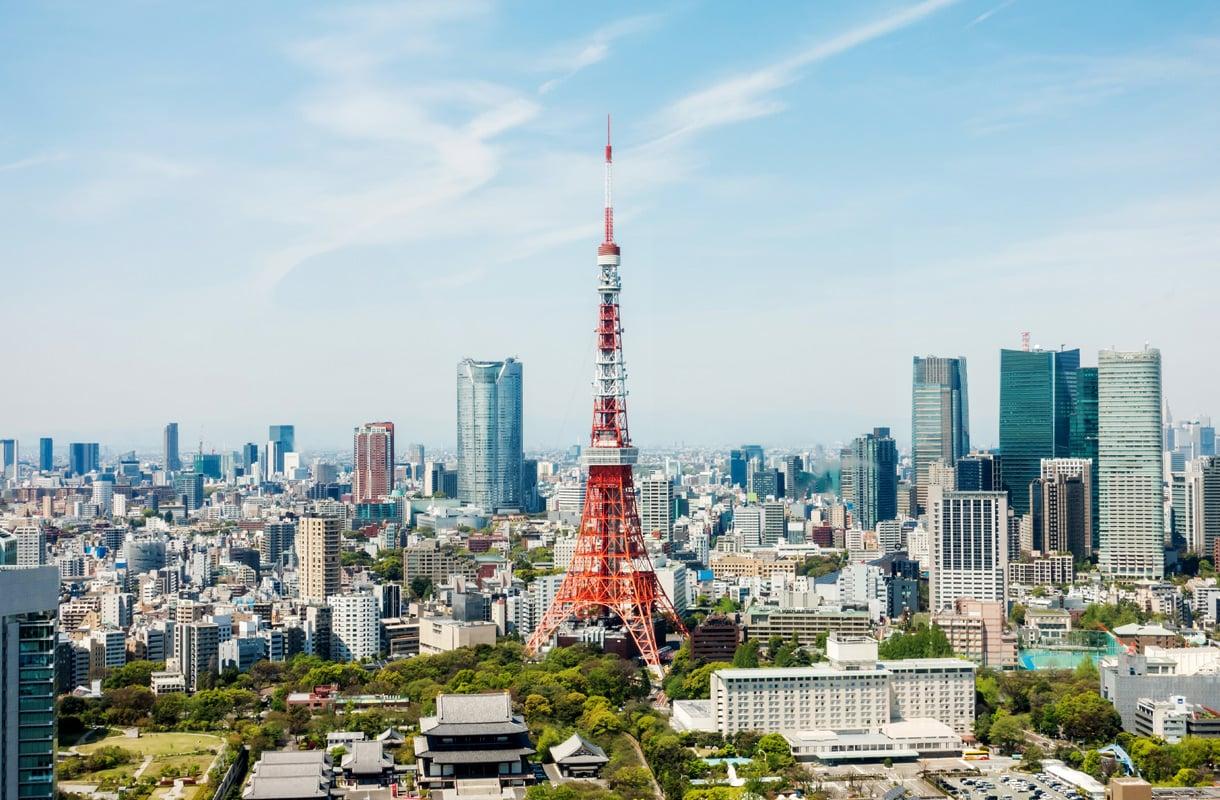 Tokion parhaat nähtävyydet