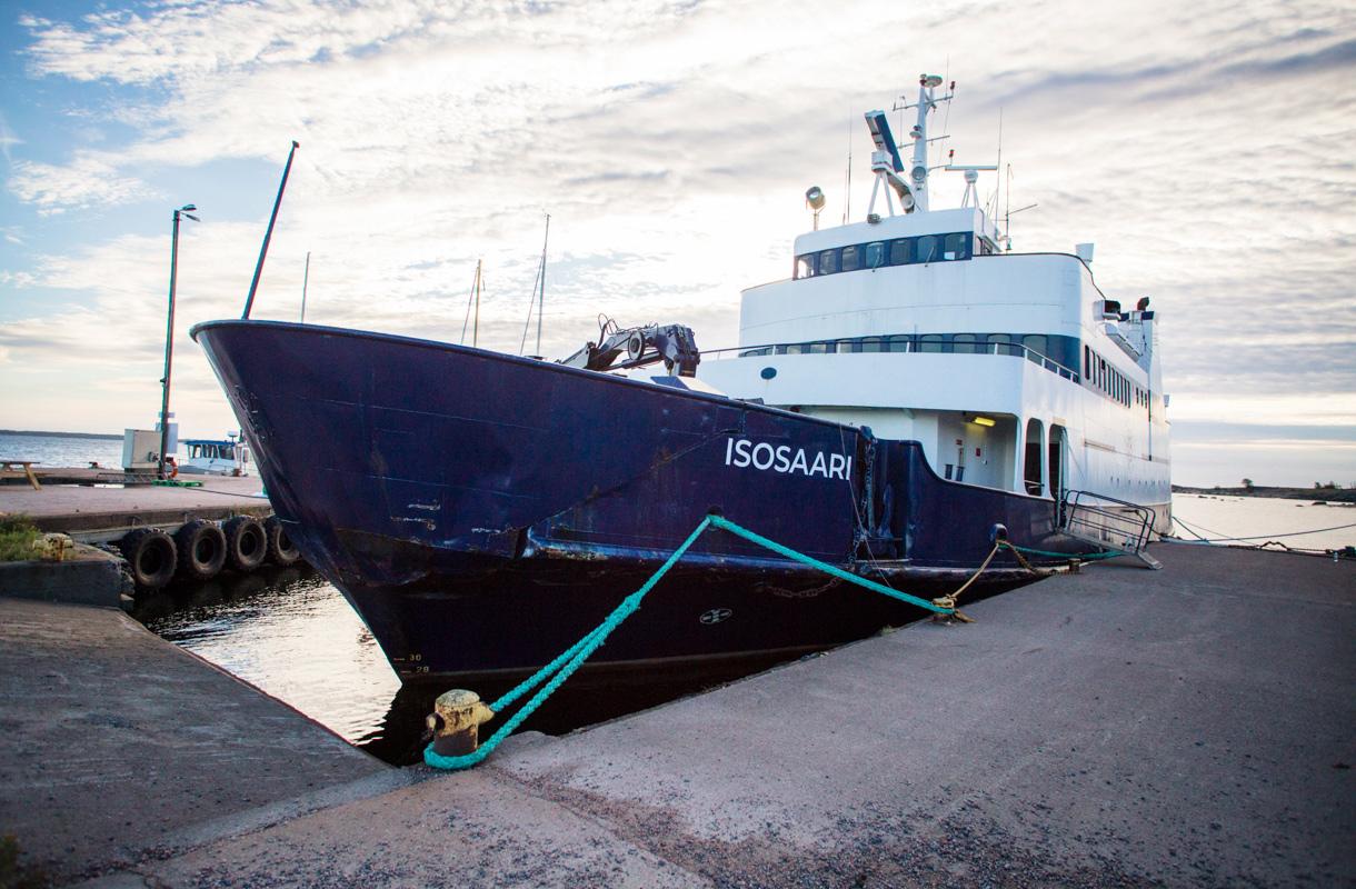 Isosaari Laiva