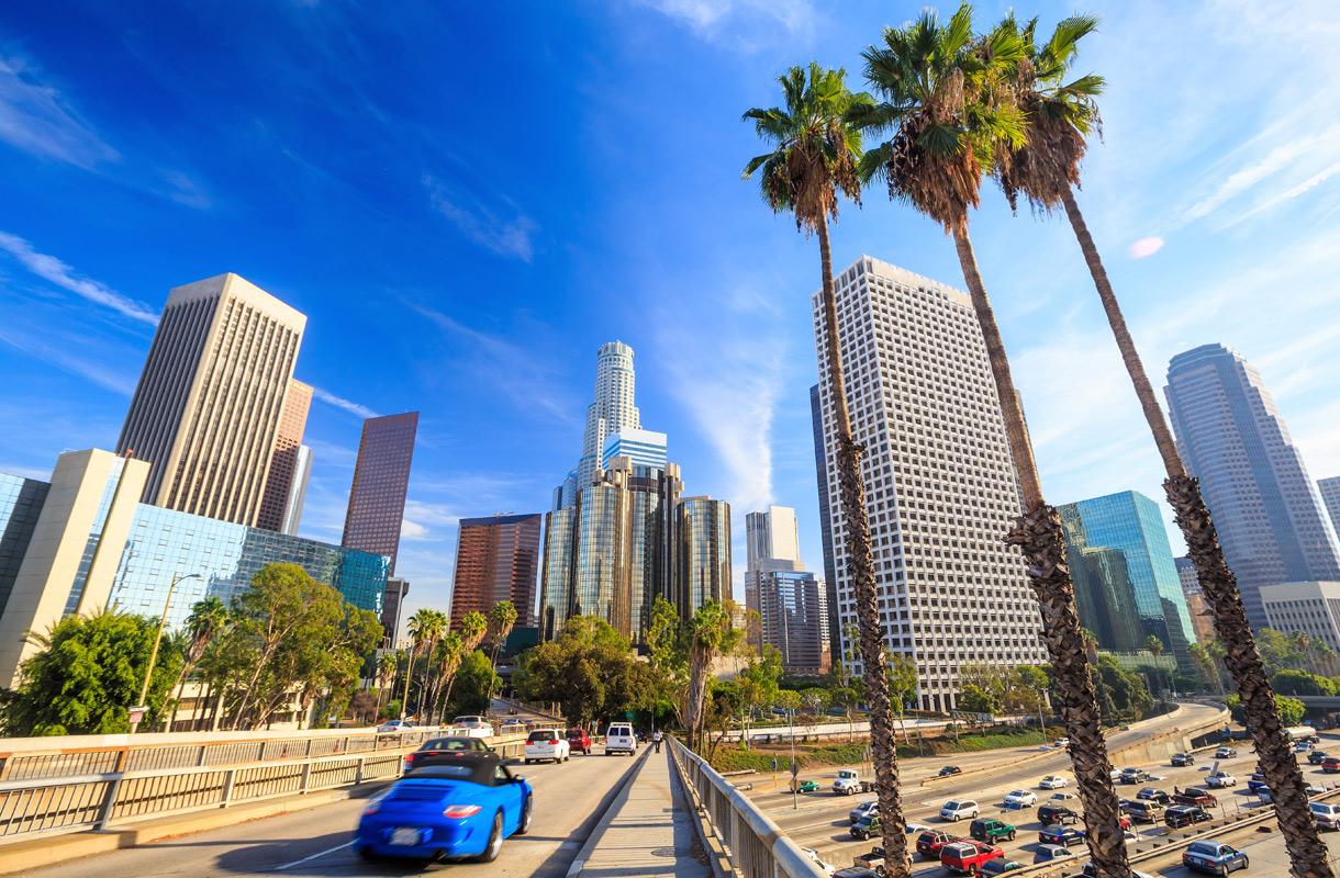 Kalifornian ilmastoon kuuluu sekä lumi että helle