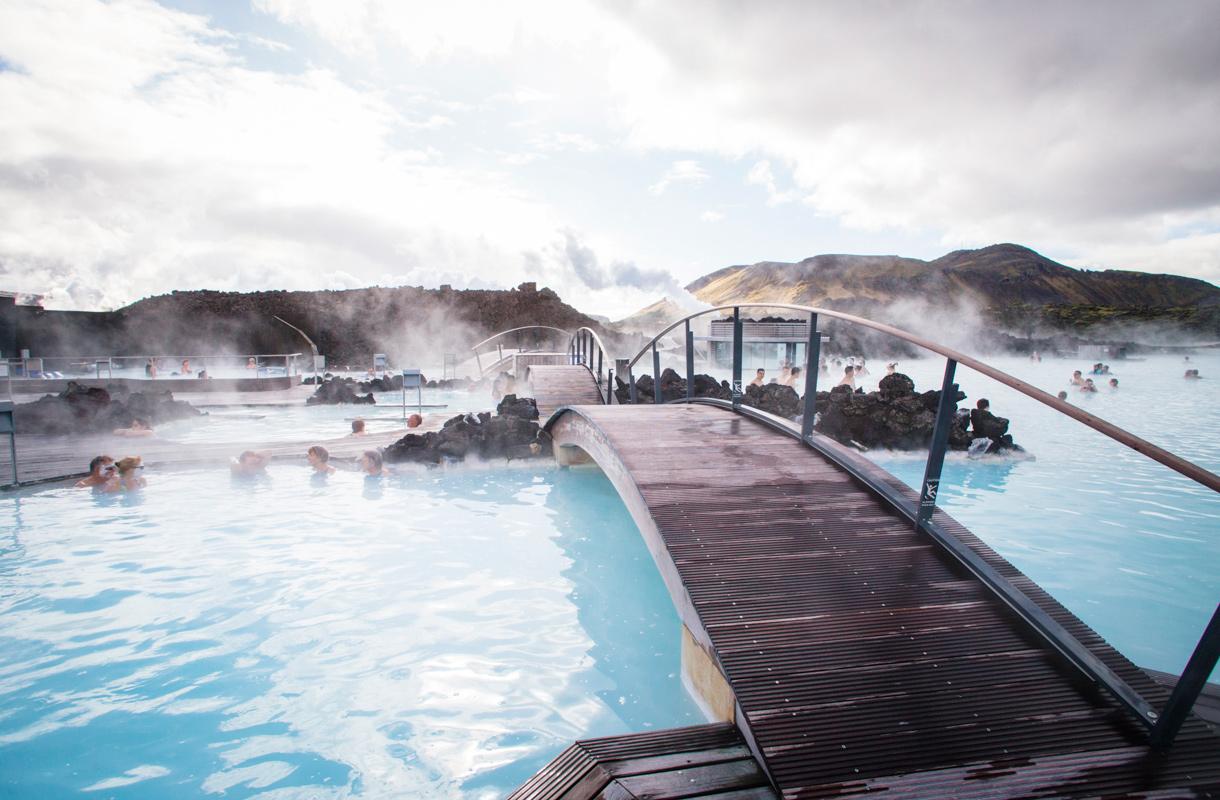 Islannin Blue Lagoonin hotellissa on salainen huone