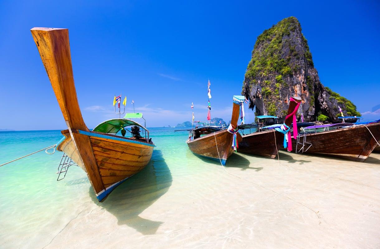Krabilta on helppo tehdä retkiä pitkähäntäveneillä