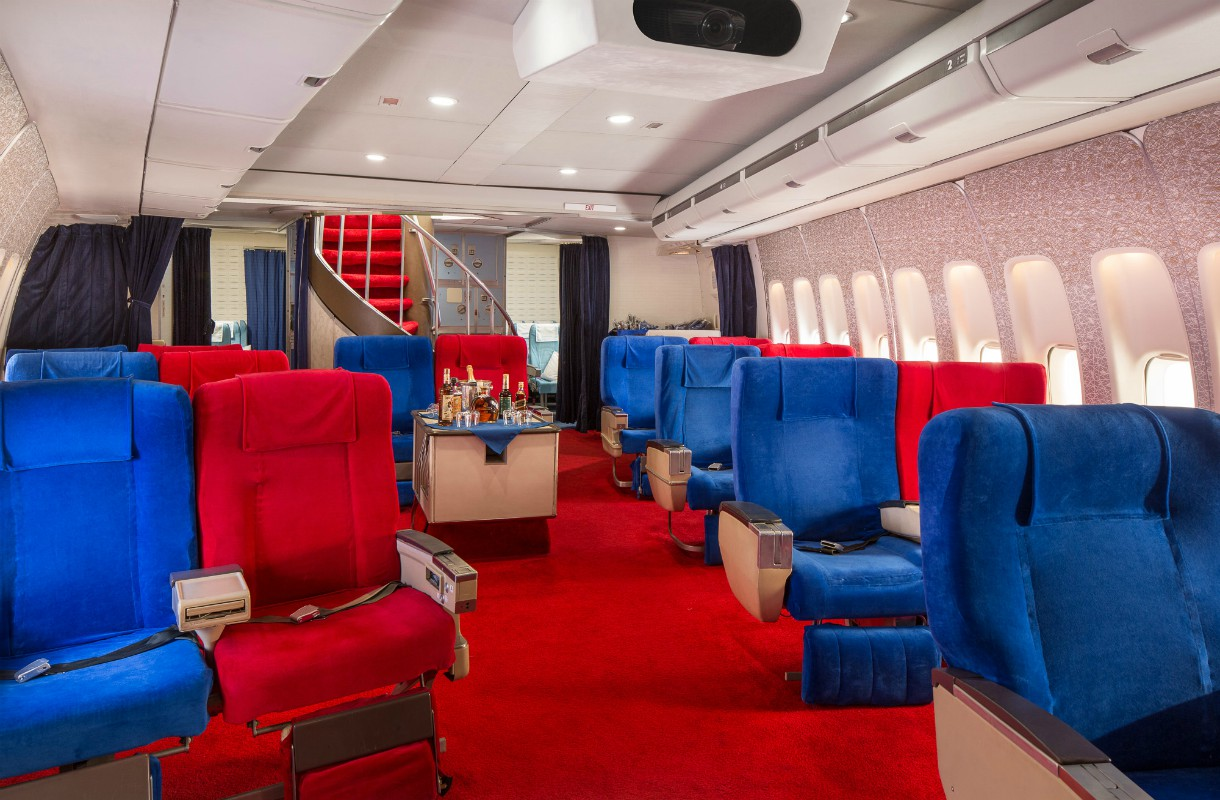 Pan Amin lentokoneen lavasteet