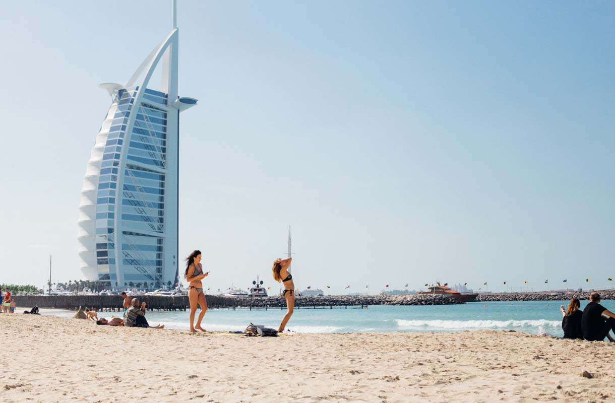 Dubaissa on erityisen hyviä luksushotelleja