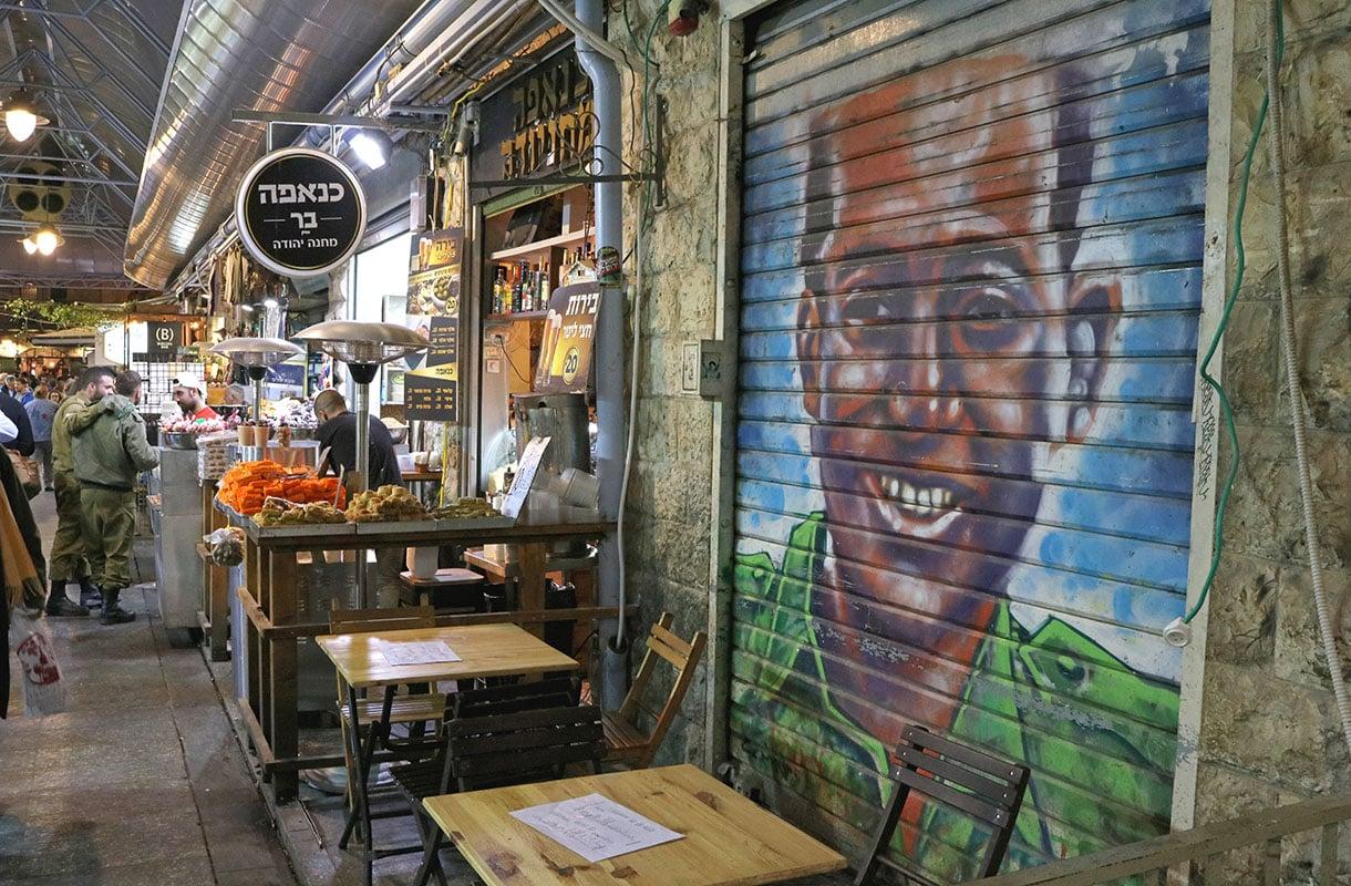 Jerusalemin graffitit