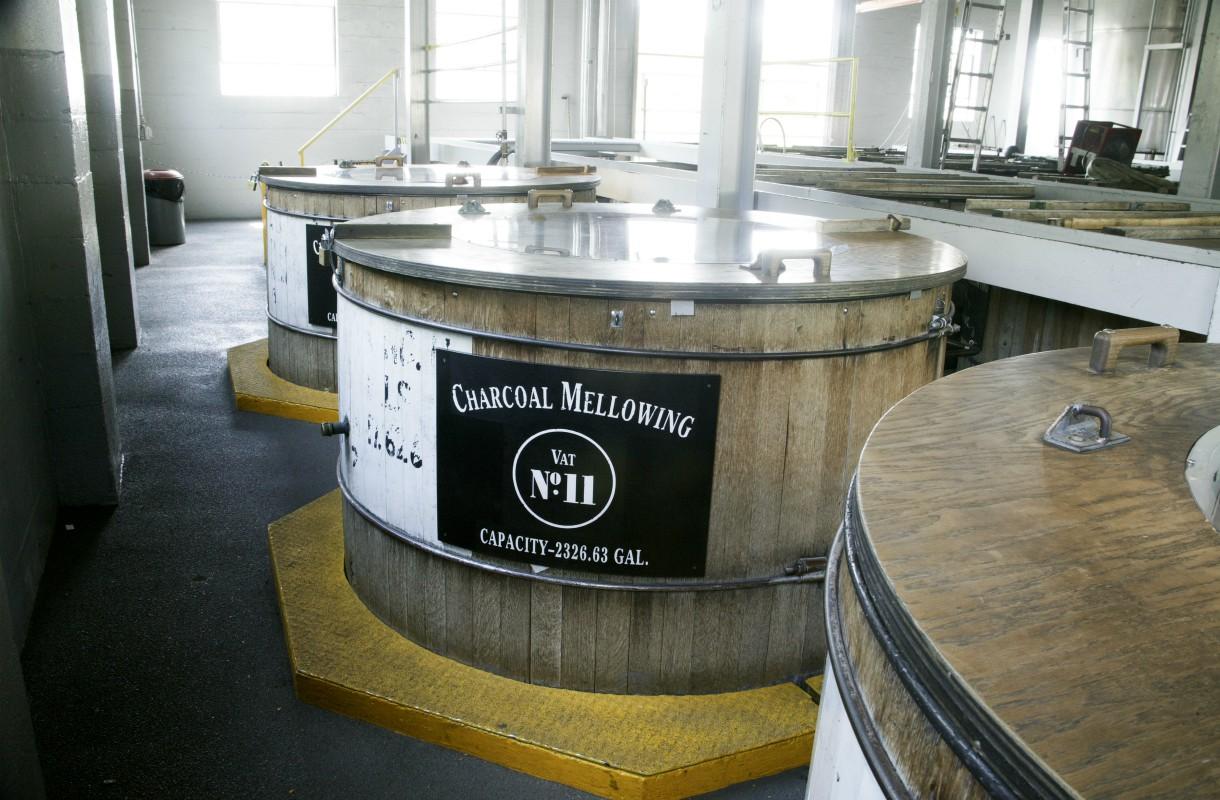 Jack Daniel'sia valmistetaan Yhdysvalloissa Tennesseen osavaltiossa
