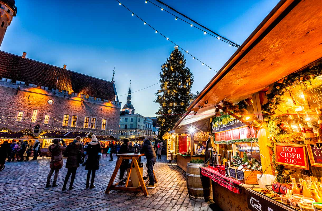 Joulumarkkinat Tallinnassa