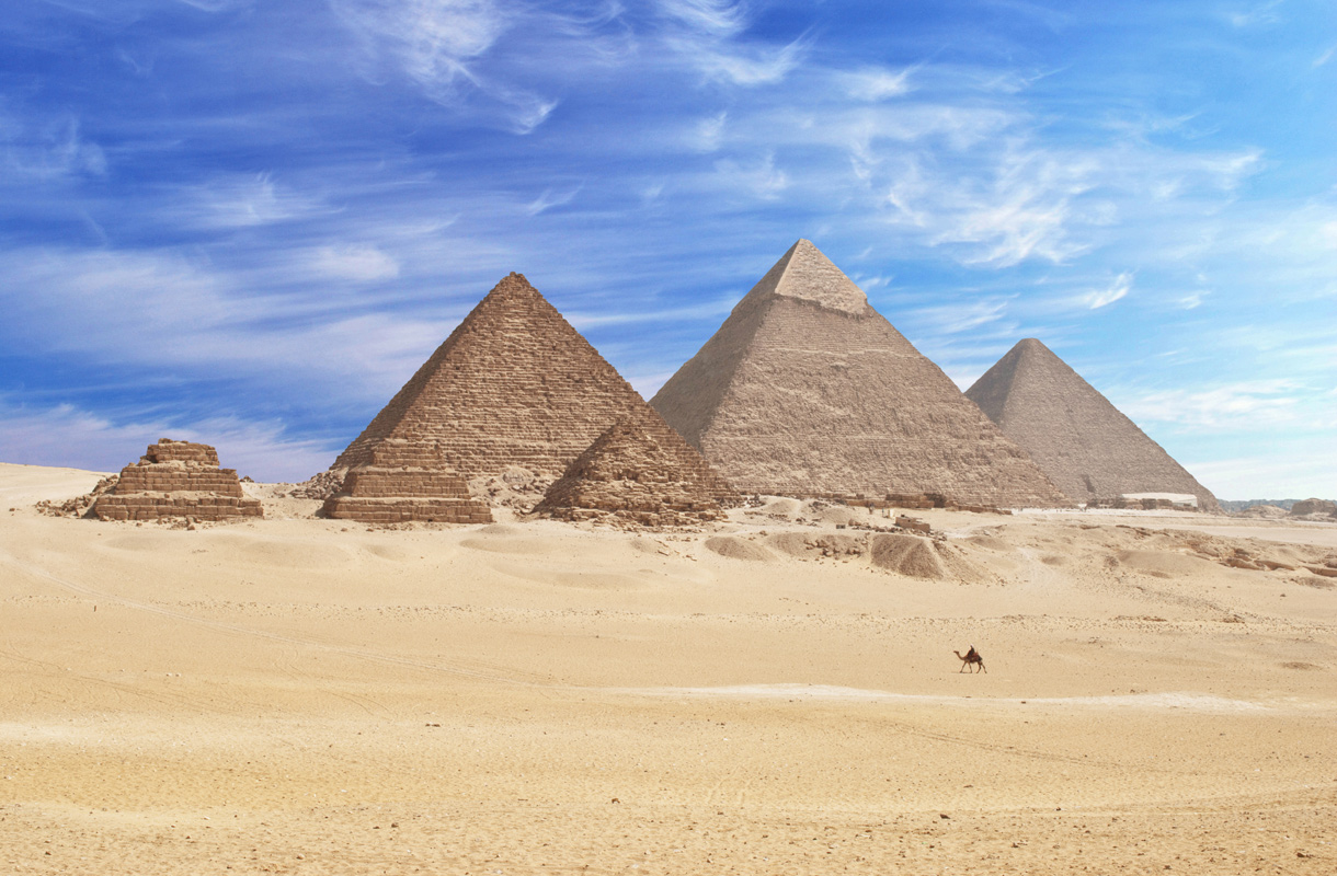 Egyptissä on maailman toiseksi eniten pyramideja
