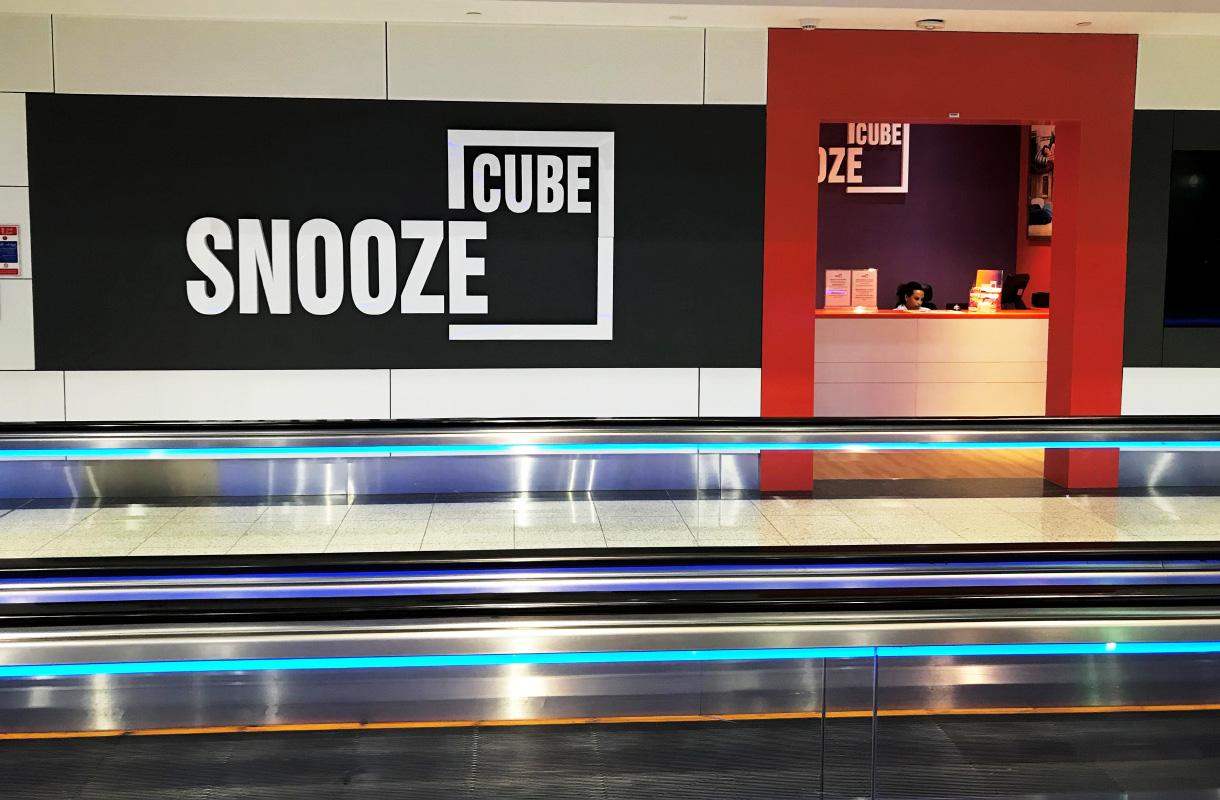 Dubain lentokentän Snooze Cube