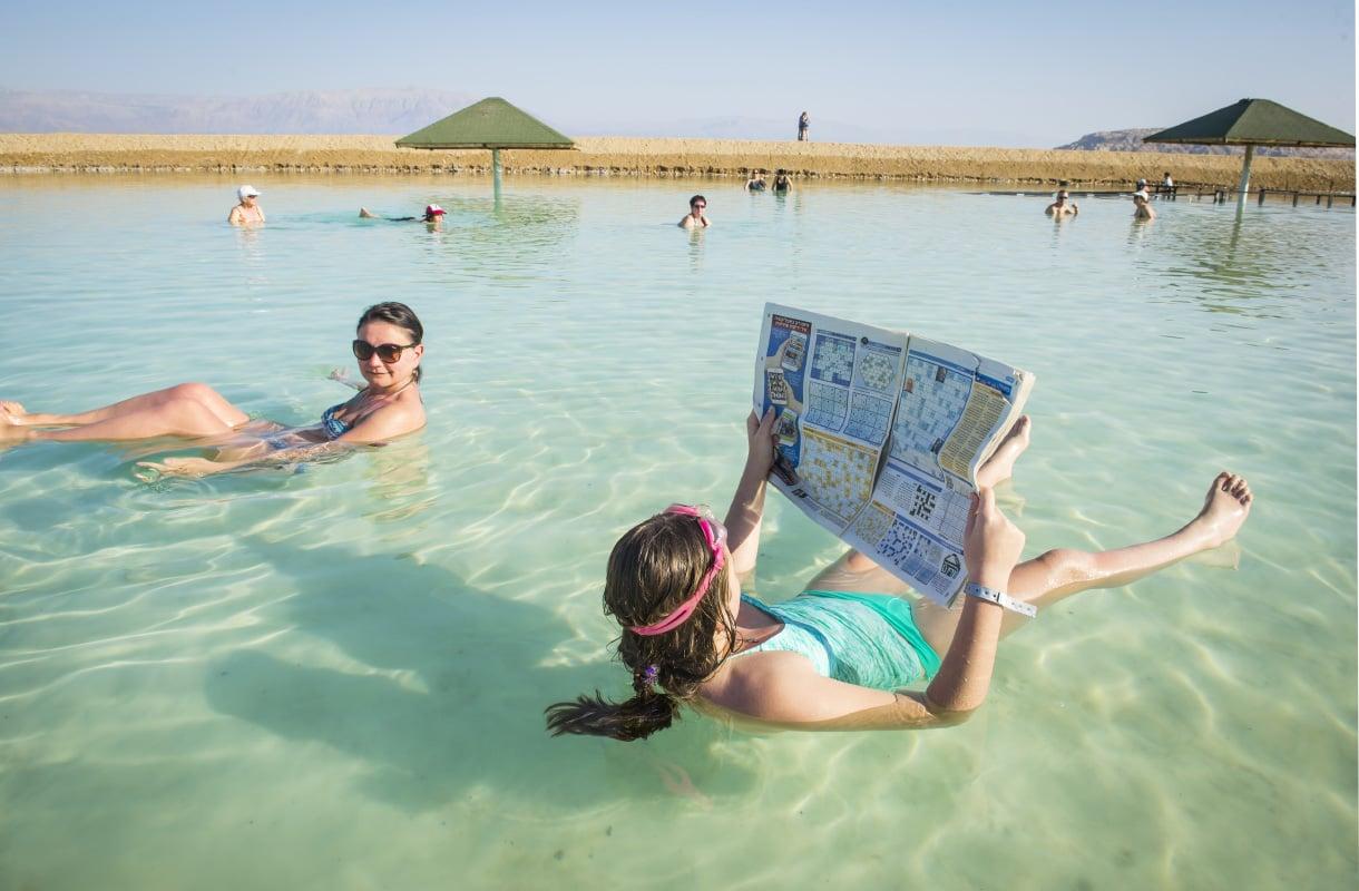 Ein Bokekin ranta Kuolleellamerellä