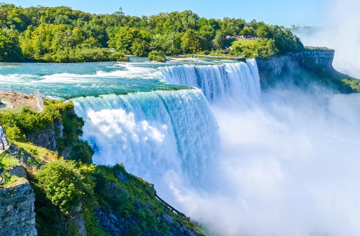 Niagaran putoukset, Kanada