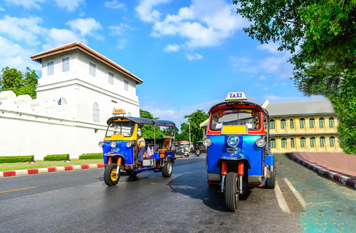 Pitääkö taksikuskille jättää tippiä Thaimaassa?