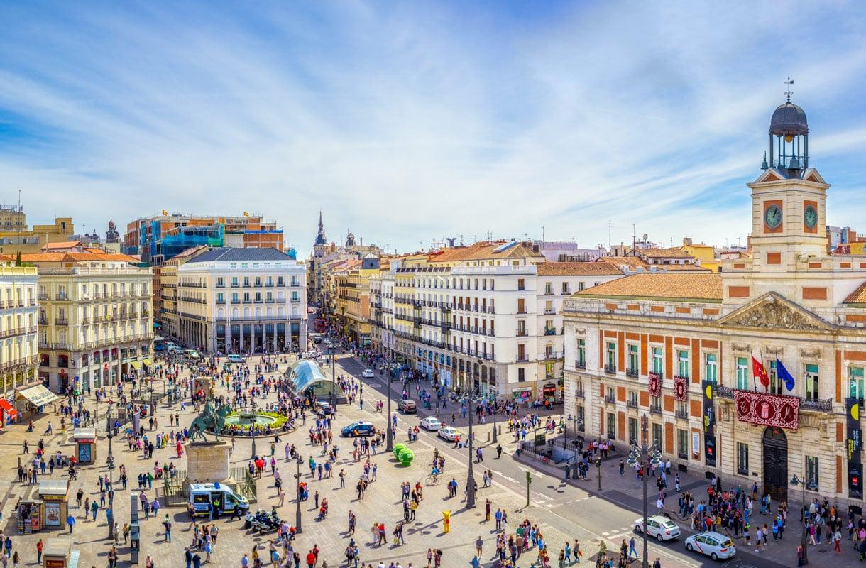 Madridissa on kesällä tukalan kuuma