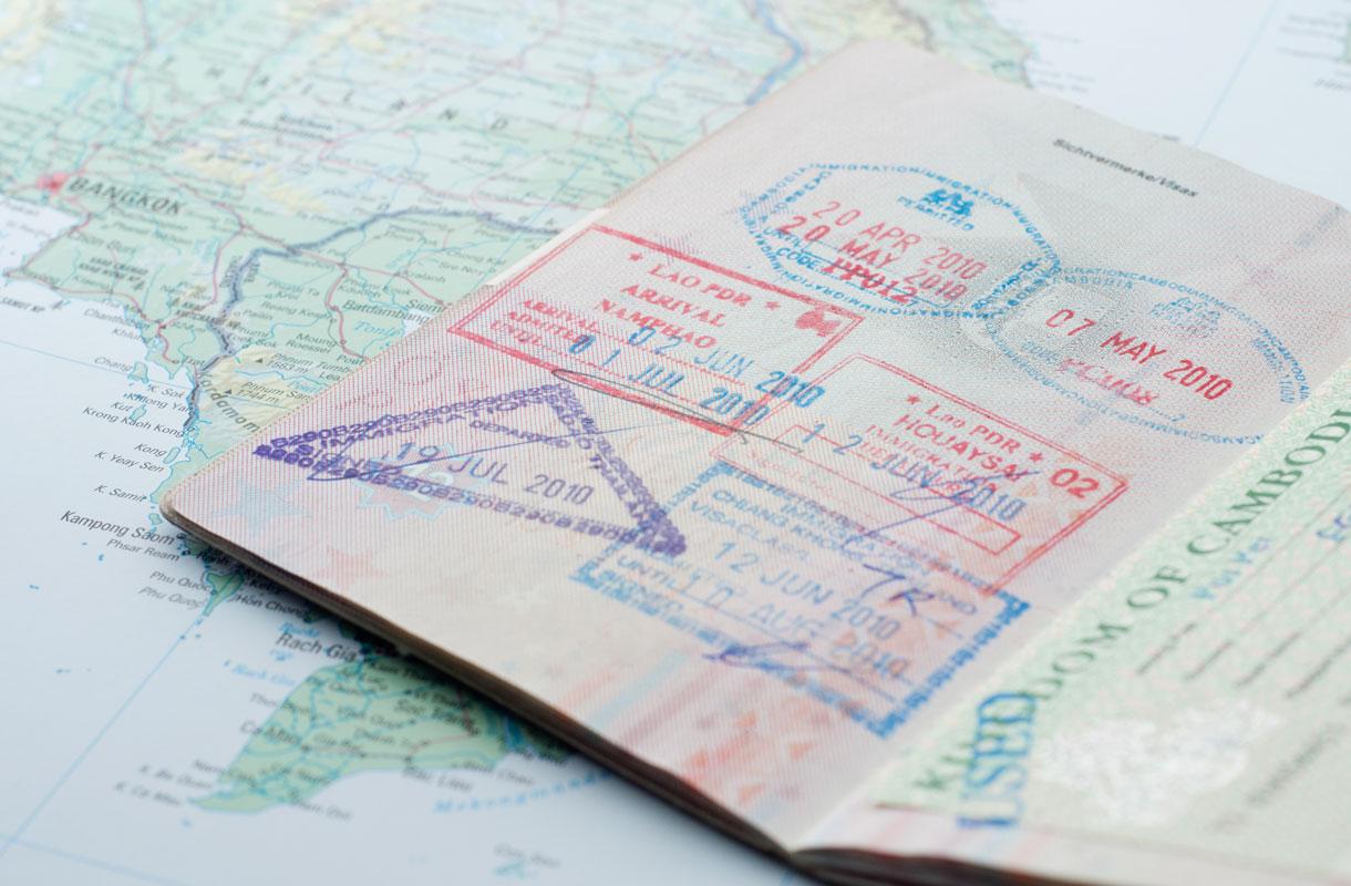 Tarkista passin kunto ennen Balin-matkaa
