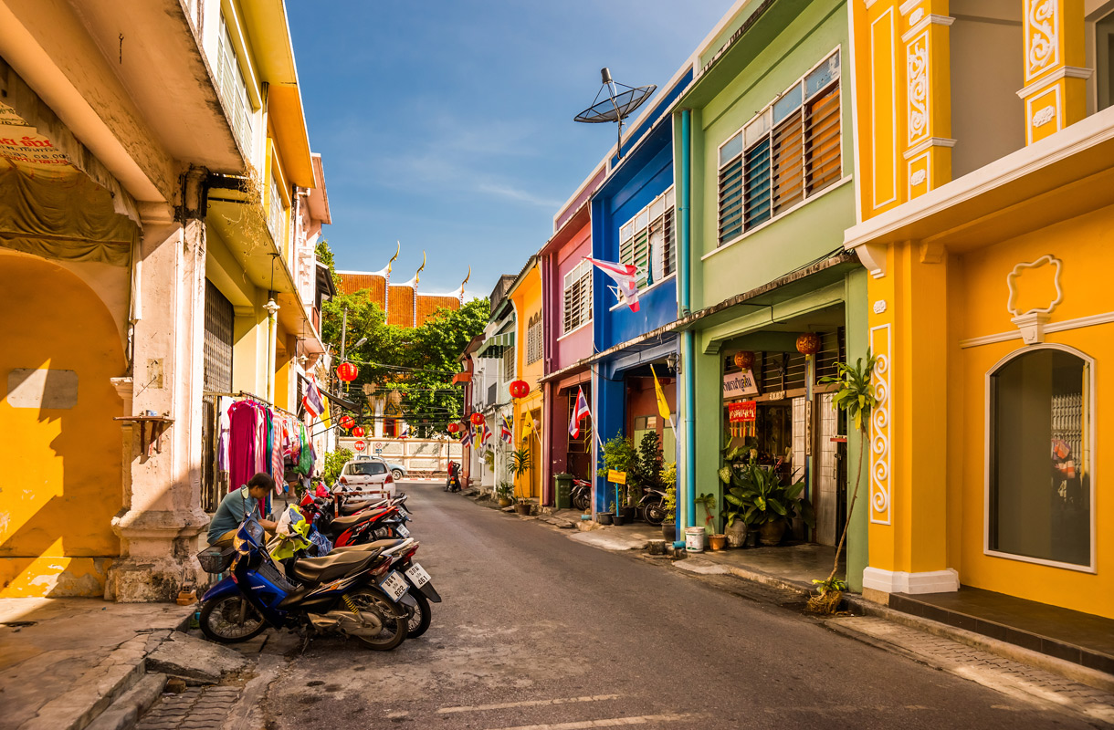 Phuket Town on yllättävän viihtyisä