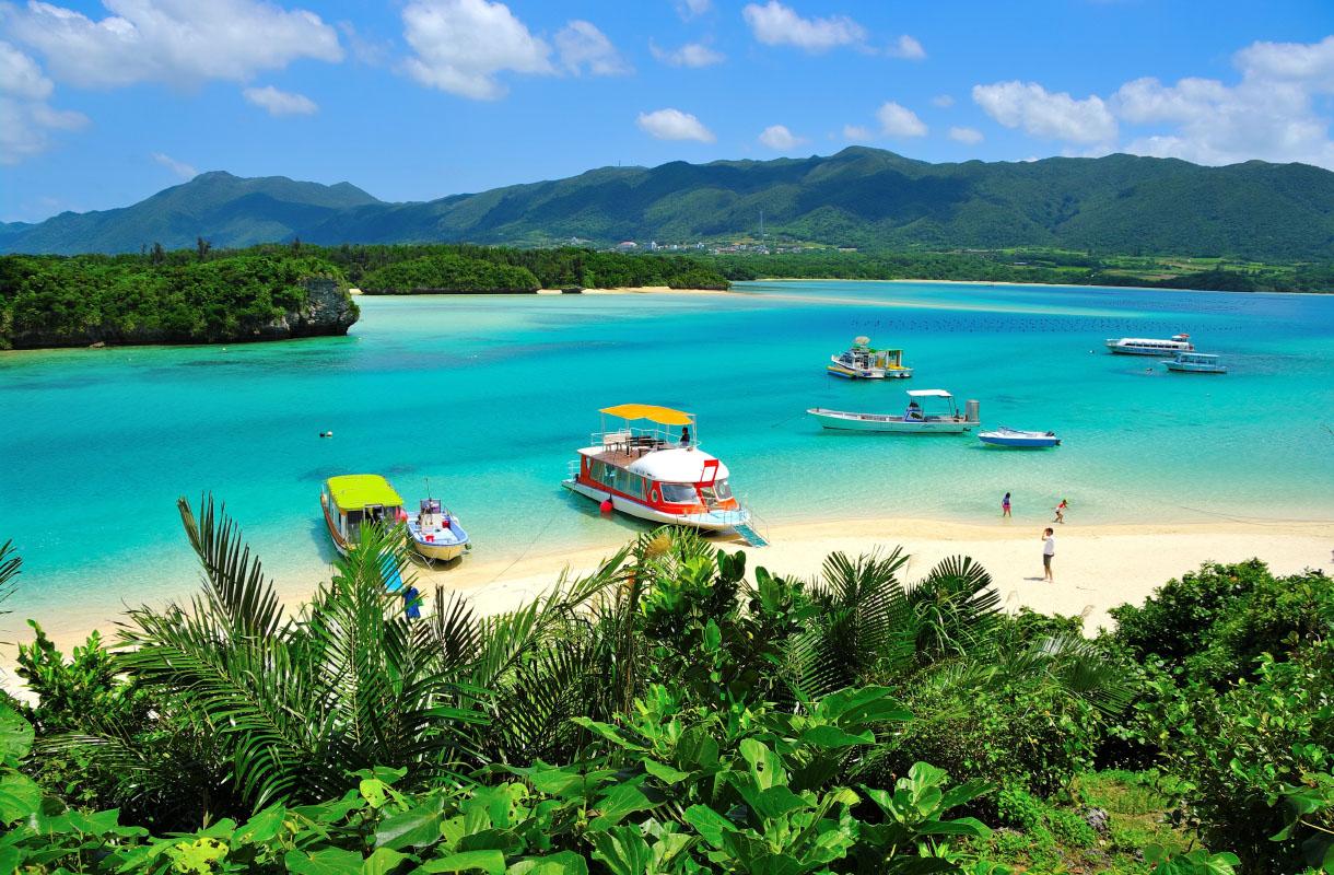 Kabira-lahti, Okinawa
