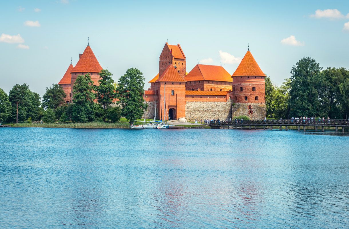 Trakain linna, Liettua