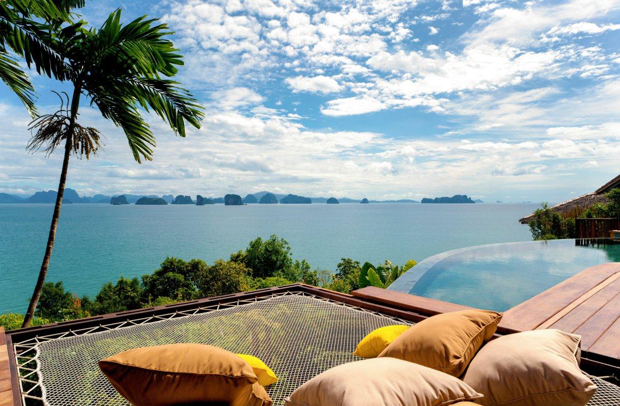 Luksushotelli Thaimaan Koh Yao Noin saarella