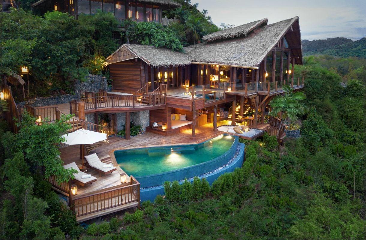 Luksusmajoitusta Koh Yao Noin saarella