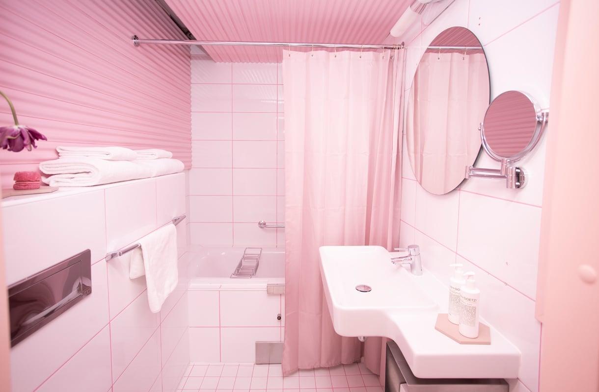 Sweet Suite -jäätelöhuone Klaus K -hotellissa