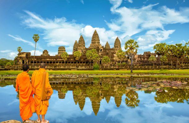 Kambodza Lennot Hotellit Ja Nahtavyydet Rantapallon Kohdeopas
