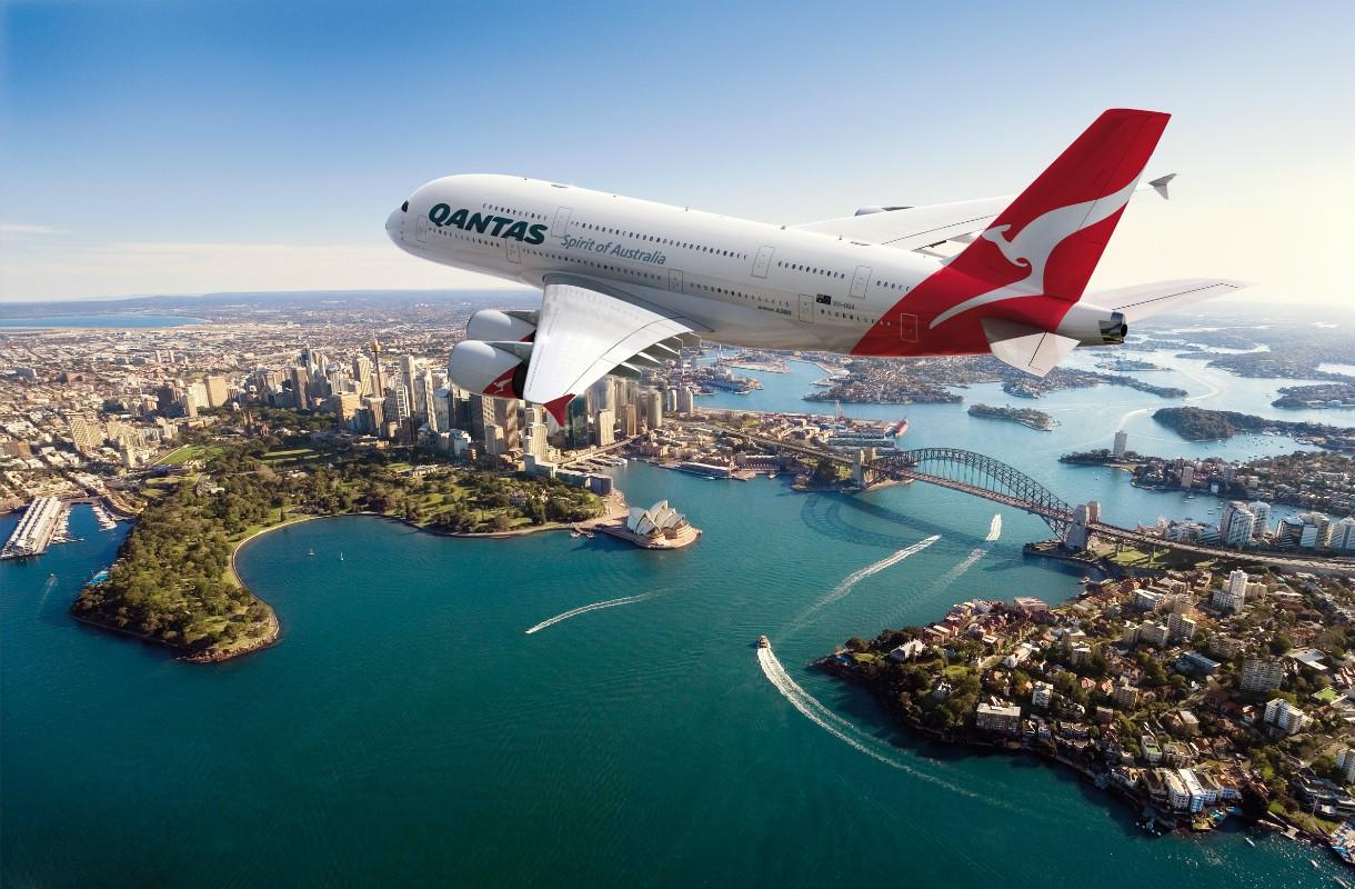 Qantas on Australian isoin lentoyhtiö