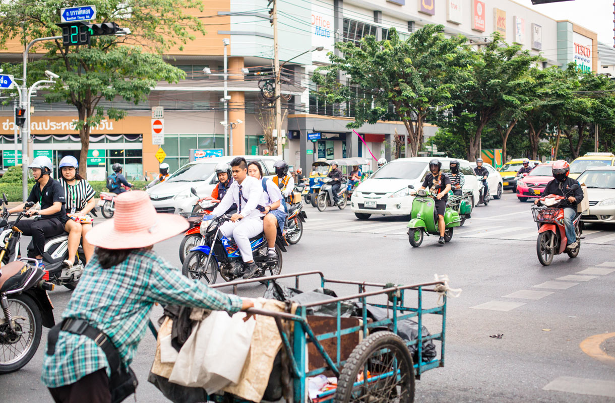 Ruokakaupat Bangkokissa