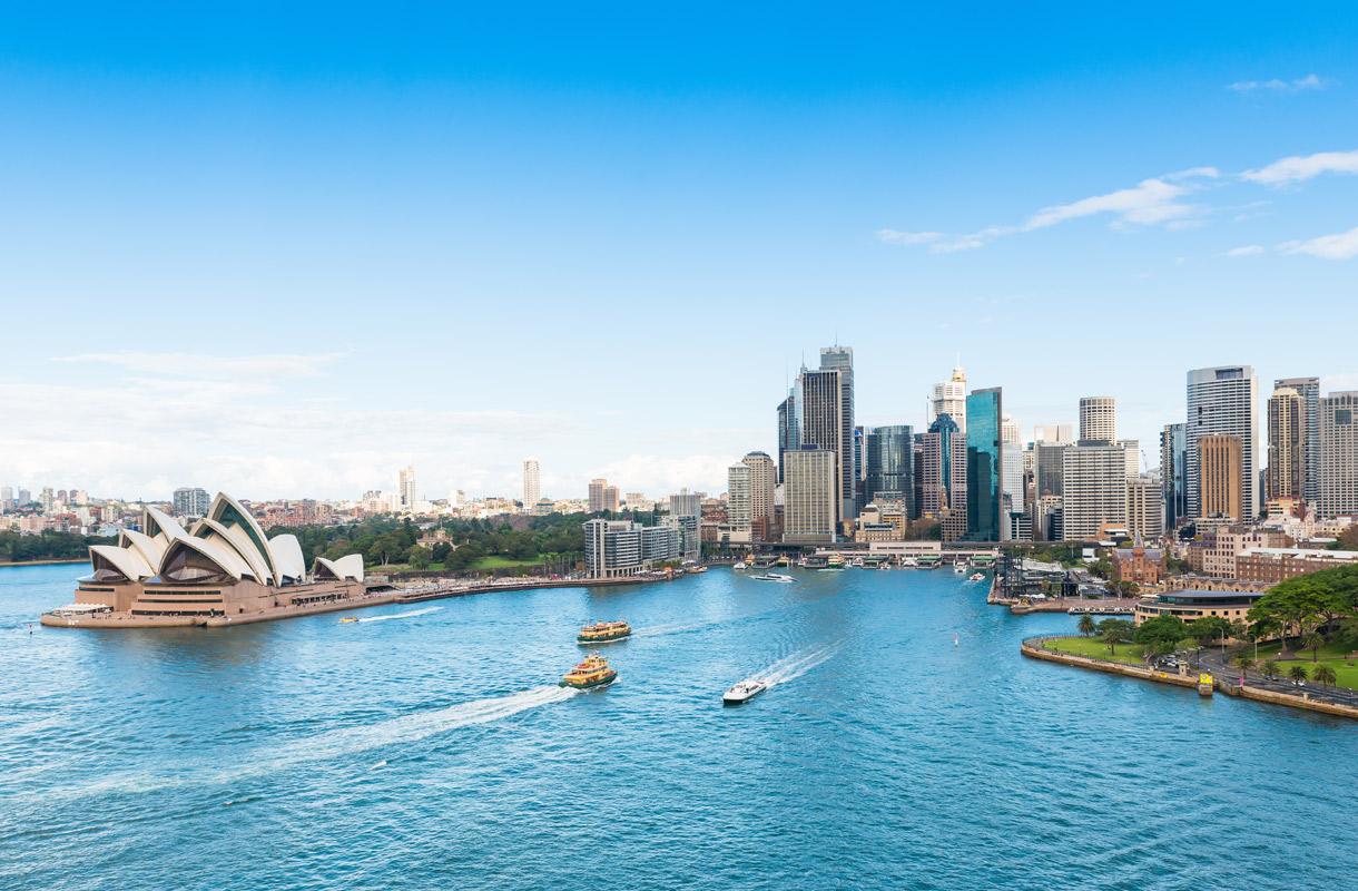 Miten Sydney sai nimensä?