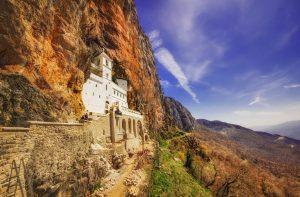 Ostrogin luostari, Montenegro