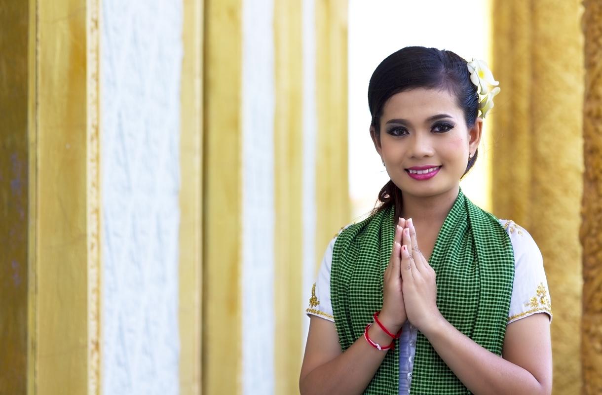 Kiittäminen Thaimaassa