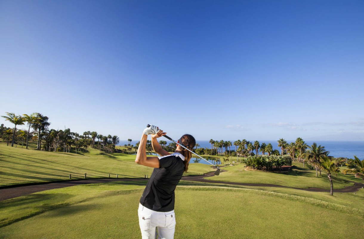 Teneriffa on hyvä golf-kohde