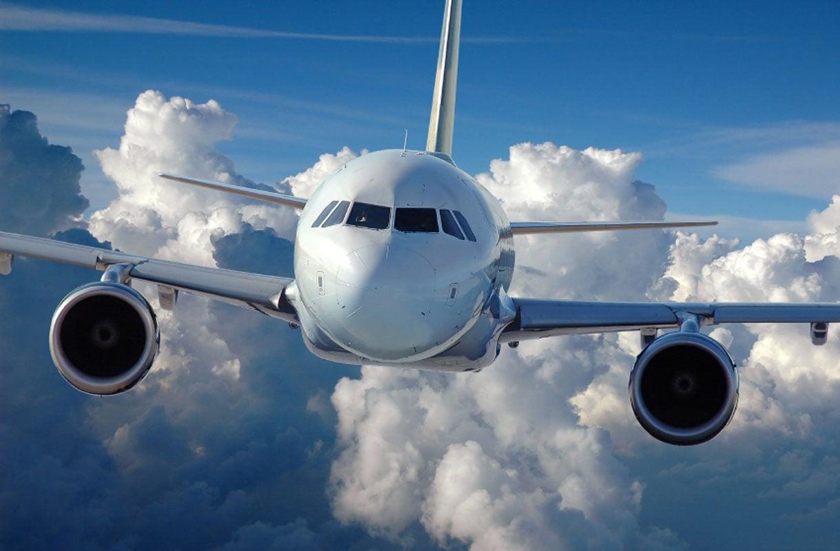 Lentokone ilmassa