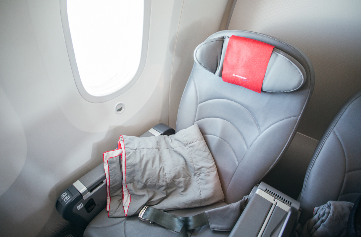 Norwegianin Premium-matkustamo