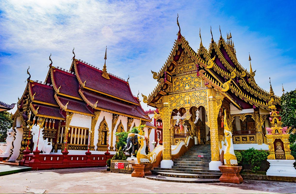 Chiang Mai on suosittu paikka Songkranin aikaan
