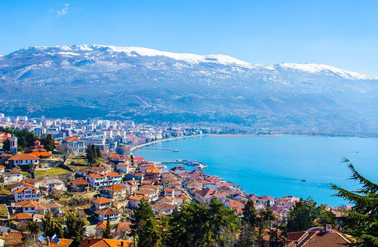 Viisi vinkkiä Pohjois-Makedonian Ohridjärvelle